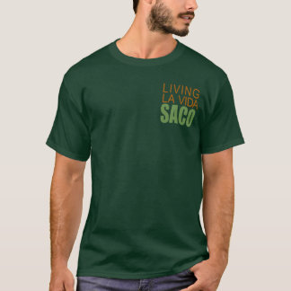 Saco vivo del vida del la camiseta