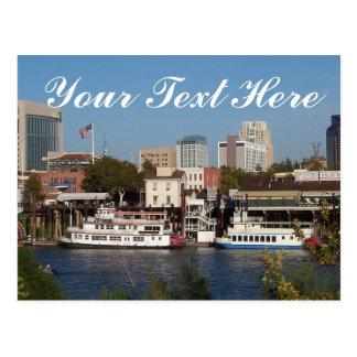 "Sacramento, CA postal de ""su texto aquí"""