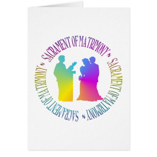 Sacramento del matrimonio felicitacion