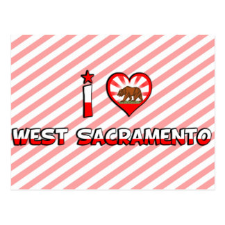 Sacramento del oeste, CA Postales