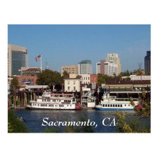 Sacramento, postal de CA