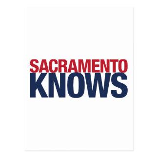 Sacramento sabe postal