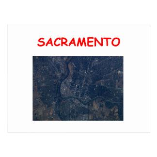 Sacramento Tarjeta Postal