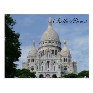 Sacré Cœur París - postal