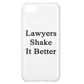 Sacudida de los abogados él mejor