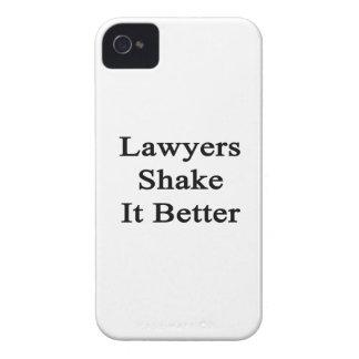 Sacudida de los abogados él mejor iPhone 4 carcasas