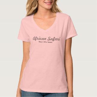 Safari africano: La camiseta de las señoras