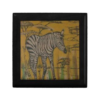 Safari africano Zebra png de Kenia de la vida salv Cajas De Recuerdo