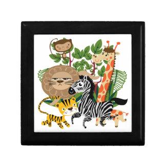 Safari animal cajas de joyas