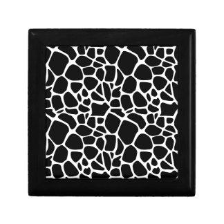 Safari blanco y negro caja de regalo