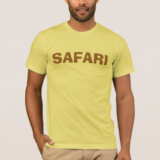 SAFARI CAMISETA