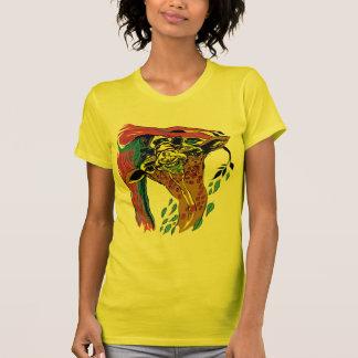 Safari de la jirafa camiseta