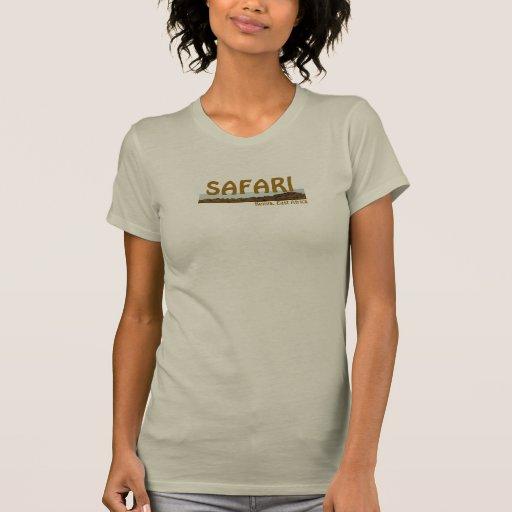 Safari de señora camiseta