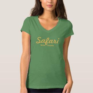Safari de señora - hoja camisas