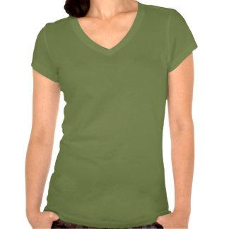 Safari de señora - hoja camiseta