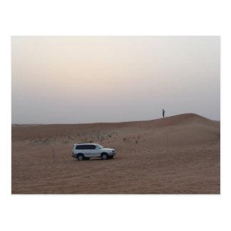 Safari del desierto de Dubai Tarjeta Postal