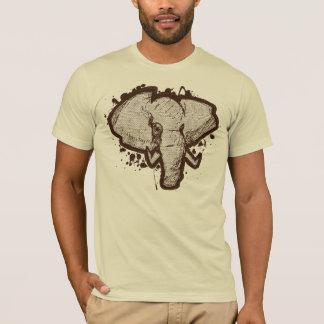 Safari del elefante camiseta