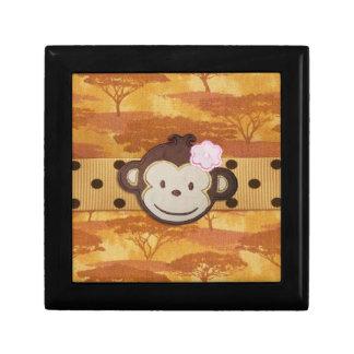 Safari del mono cajas de regalo