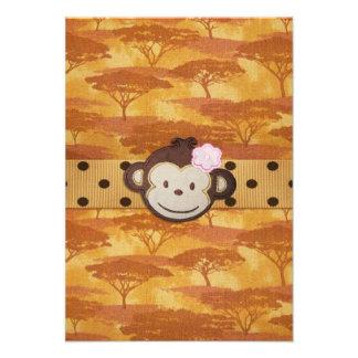 Safari del mono comunicados