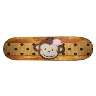 Safari del mono monopatin personalizado