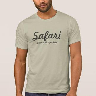 Safari gris claro camiseta