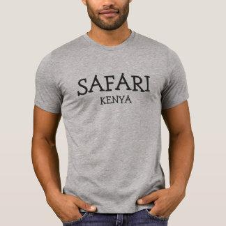 Safari Kenia - camiseta gris