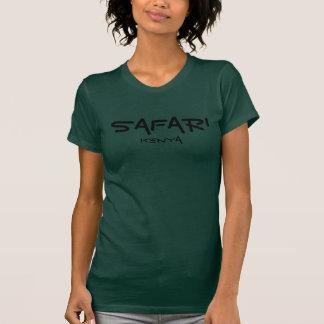 Safari Kenia - Forest Green Camisetas