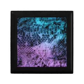 Safari púrpura y azul cajas de joyas