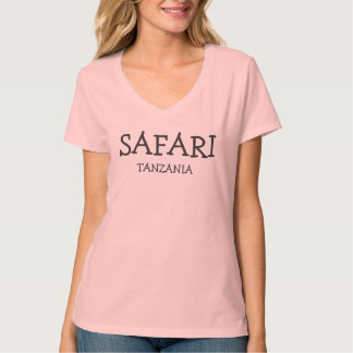 Safari Tanzania Camisetas