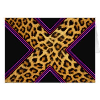 Safari X Tarjetón
