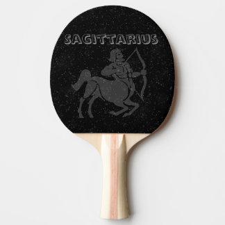 Sagitario translúcido pala de ping pong