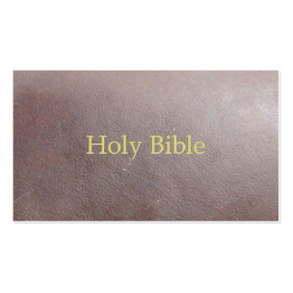 Sagrada Biblia Tarjetas De Visita