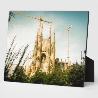 Sagrada Estelada: Independencia en construccio Placa De Madera