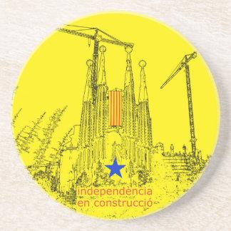 Sagrada Estelada: Independencia en construccio Posavasos Cerveza
