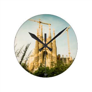 Sagrada Estelada: Independencia en construccio Reloj Redondo Mediano