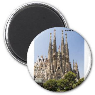Sagrada Familia Barcelona España Imán Para Frigorifico