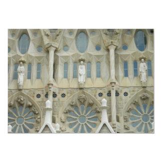 Sagrada Familia, Barcelona Invitación 12,7 X 17,8 Cm