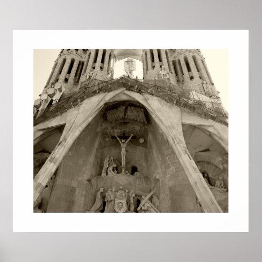 Sagrada Familia de Gaudi Póster