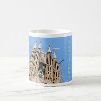 Sagrada Familia en Barcelona, España Taza De Café