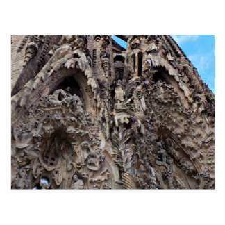 Sagrada Familia, natividad Façade - foto de Postal