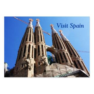 Sagrada Familia Tarjetas De Visita Grandes