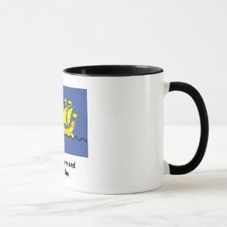 Saint Pierre y taza de Miquelon