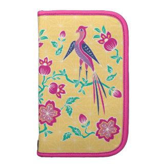 Sakura Floral Batik Large Folio Planner 2