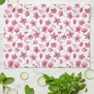 "Sakura rosado florece la toalla de cocina 16"" x"