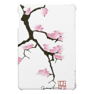 Sakura y pájaros rosados, fernandes tony