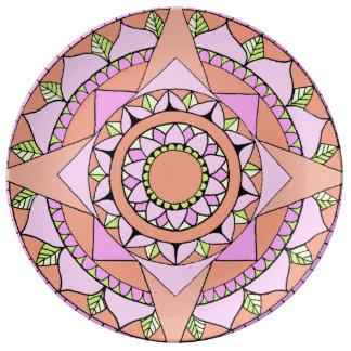 Sakuraa. Plato De Porcelana
