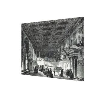 Sala del Maggior Consiglio Impresión En Lienzo