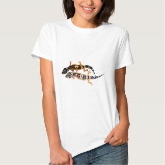 Salamanquesa de leopardo pareja camiseta