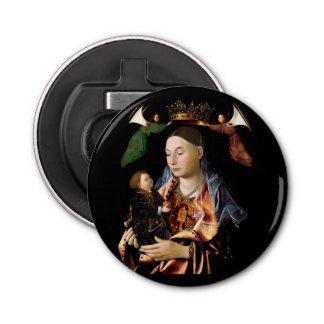 Salar Madonna y al niño de Cristo Abrebotellas