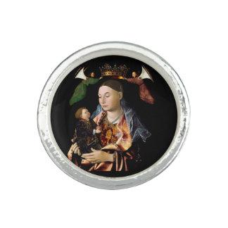 Salar Madonna y al niño de Cristo Anillo